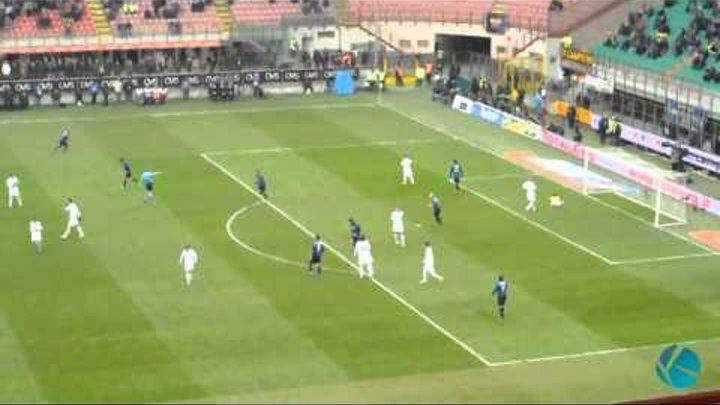 Inter 0-1 Novara / Full Highlights HQ / 12.02.2012.