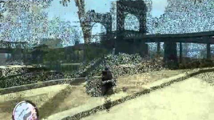 GTA 4 episod (приколы,падения)
