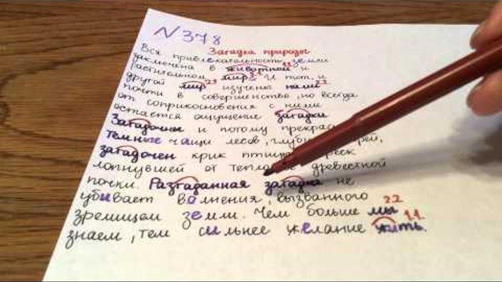 Задание №378. Русский язык 5 класс Ладыженская.