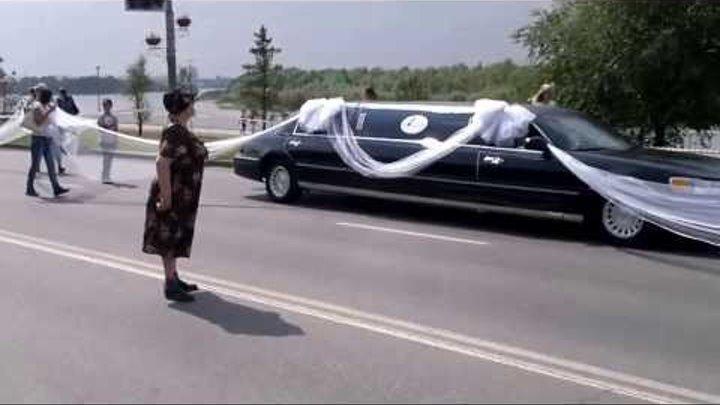 Омск, Рекорд Гиннеса, Самая длинная фата невесты 4