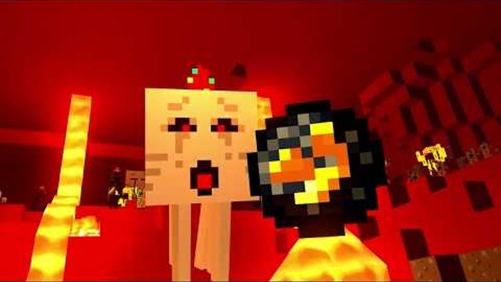 СМЕШНОЙ МУЛЬТИК МАЙНКРАФТ! СТИВ И АЛЕКС ПОПАЛИ В АД! Minecraft НА РУССКОМ!