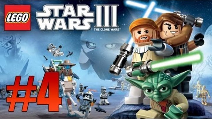 Lego Star Wars 3: The Clone Wars - Ch. 2 Gungan General - Part 4 (Lets Play)