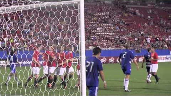 2012 Dallas Cup goal by Michael Keane #5 of Manchester United vs. FC Dallas U17/18