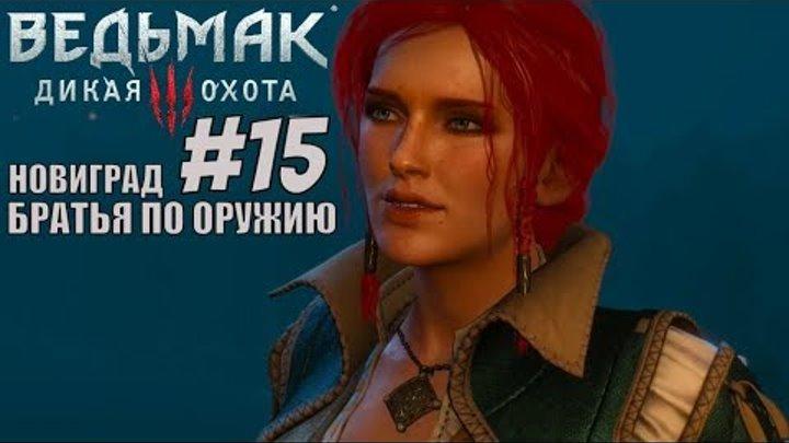 Ведьмак 3 дикая охота (witcher 3 wild hunt) Братья по оружию. Новиград. Прохождение на PS4 pro