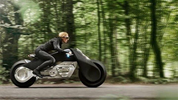 мотоцикл будущего - BMW Motorrad Vision Next 100
