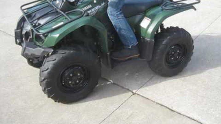 2014 GRIZZLY 450 4X4 AUTO $2600 FOR SALE WWW.RACERSEDGE411.COM