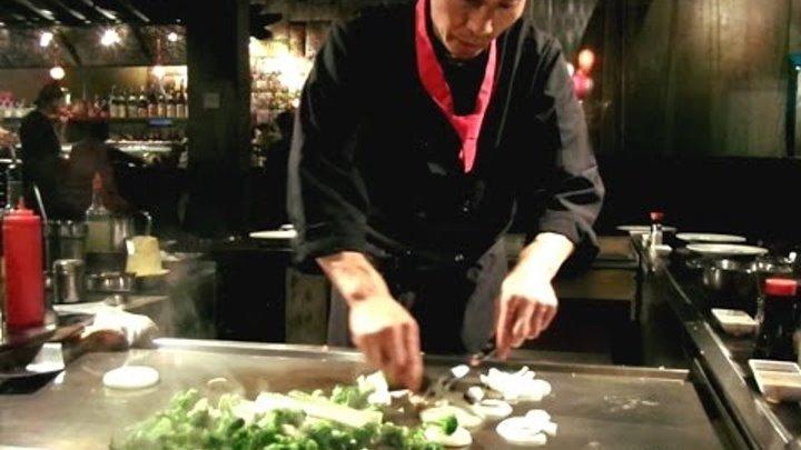 Шоу в ресторане. Мастер класс от шеф повара. Show at restaurant. Master class from the chef