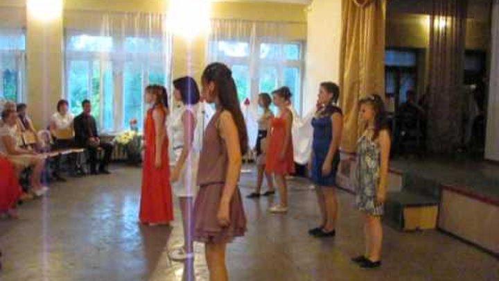 Выпускной 2012 танец девочки (кантемп) 11-А