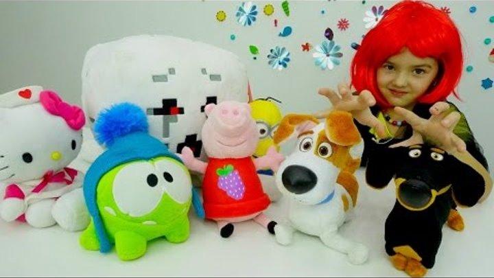 """Видео для детей. Макс, Гиджет и Бадди (мультик """"Тайная жизнь домашних животных"""") в волшебном цирке"""