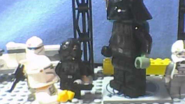 """Лего: Звездные войны. Эпизод 5 """"Бой в космосе""""."""