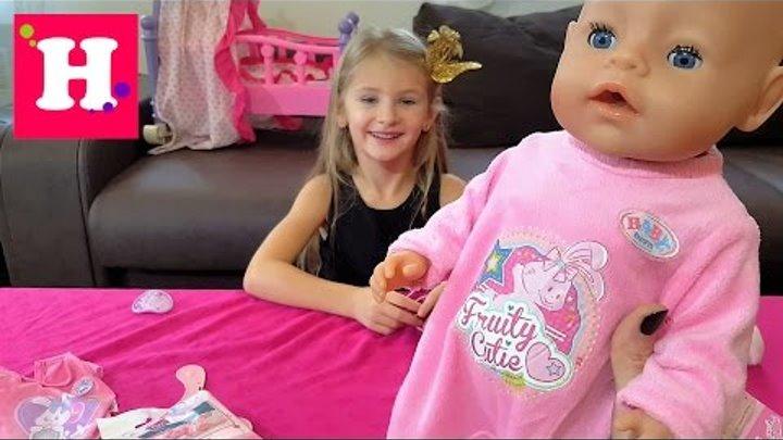 Беби Борн одежда и обувь для куклы Эмили. Baby Born doll toy Clothing & Shoes for Emili
