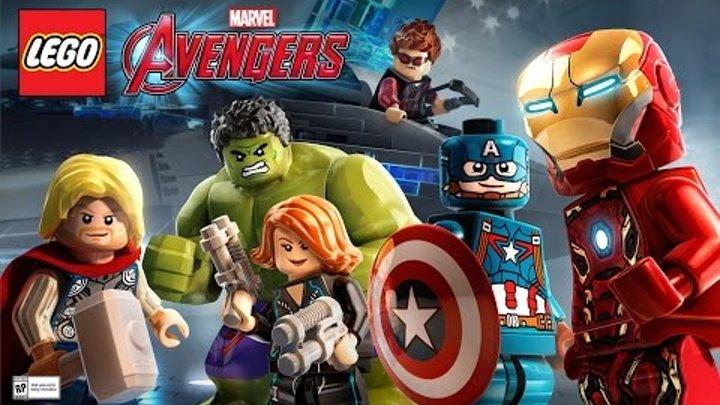 Прохождение LEGO MARVEL Avengers часть 4