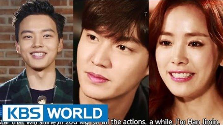 Entertainment Weekly   연예가중계 - Lee Minho, Yoo Yeonseok, Han Jimin (2015.02.06)