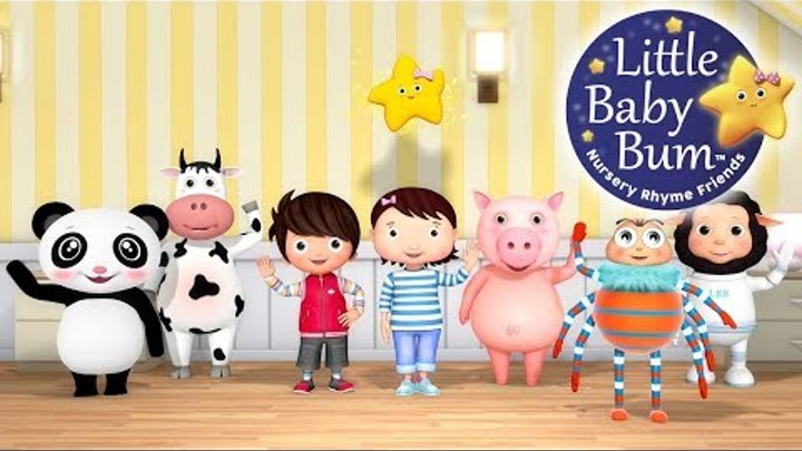 Ten Little Baby Bum Friends | Nursery Rhymes | By LittleBabyBum!