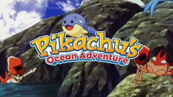 Pokemon 4-D: Pikachu's Ocean Adventure Trailer