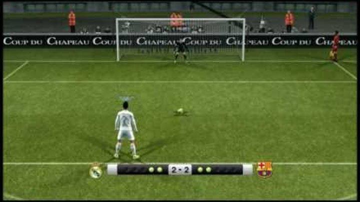 PES 2012 - Penalty Shootout [Real Madrid vs Barcelona]