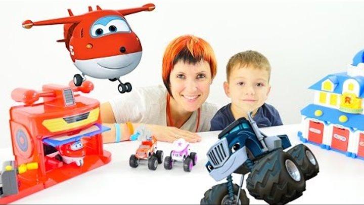 Мультики про машинки ВСПЫШ и чудо машинки. Игрушки. Видео для детей