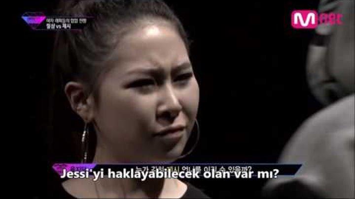 [TR SUB.] Unpretty Rapstar Jessi vs. Lil Cham Diss Battle Türkçe Altyazılı