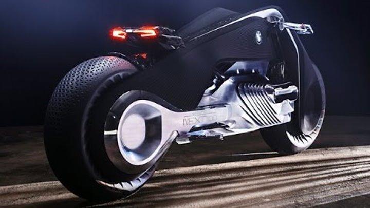 BMW Motorrad Vision Next 100 - самый красивый и футуристический мотоцикл 2016 года.