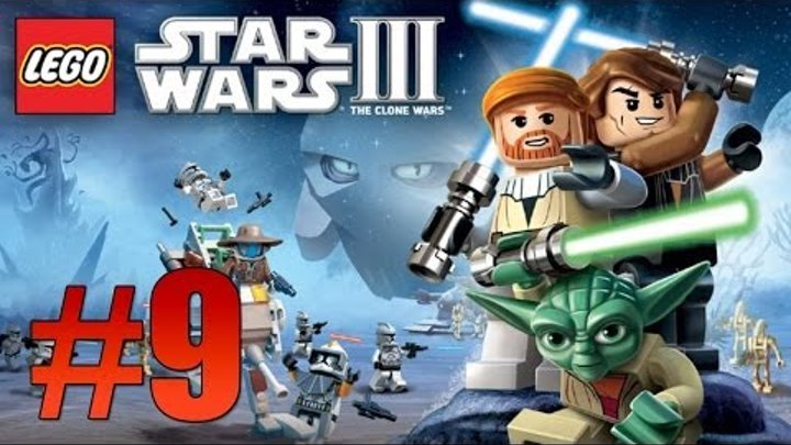 Lego Star Wars 3: The Clone Wars - Ch. 4 Lair of Grievous - Part 9