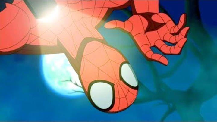 Великий Человек-Паук. Все серии подряд. Сборник мультфильмов Marvel о супергероях. Сезон2 Серии21-23