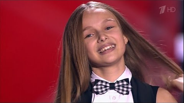 The Voice Kids RU 2016 Eva — «Je t'aime» Blind Auditions AMAZING VOICE! | Голос Дети 3. Ева Тимуш