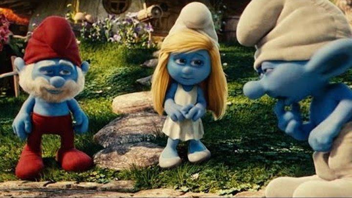 Смурфики 3 Затерянная деревня Новая коллекия The Smurfs Happy Meal часть 1