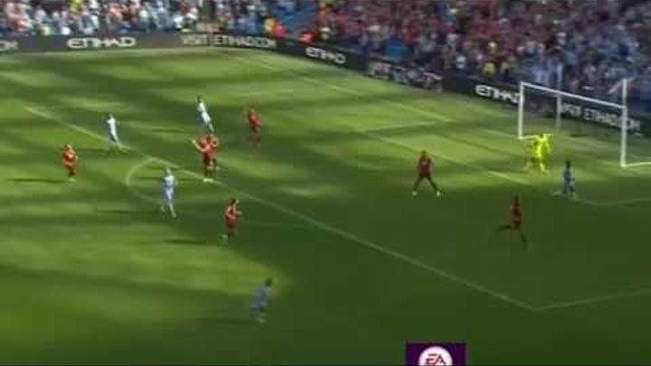 Манчестер сити - Борнмут 4-0 все голы и моменты. 17.09.2016 Чемпионат Англии.