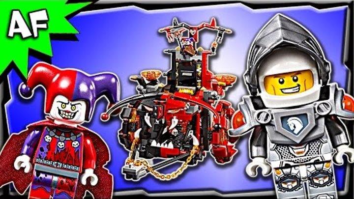 Lego Nexo Knights JESTRO'S EVIL MOBILE 70316 Stop Motion Build Review