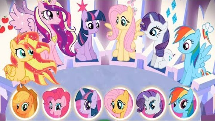 My Little Pony - Harmony Quest - 5 Ponies Princess Rescue The Ponydom Games For Kids