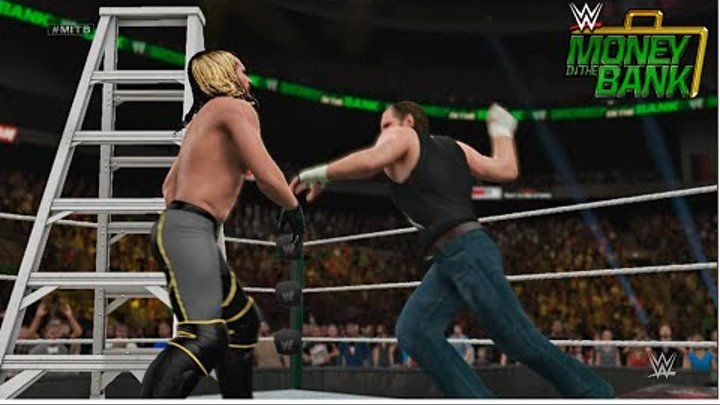 WWE Money in the Bank 2015 - Seth Rollins vs Dean Ambrose WWE World Heavyweight Championship Match!