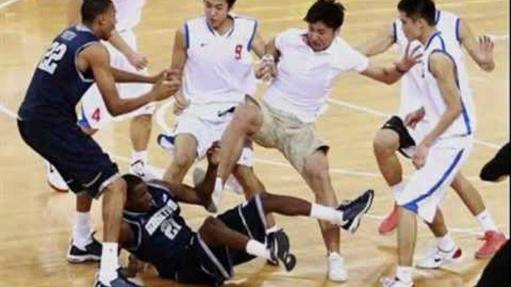 Chinese Kung fu basketball and Kung fu football