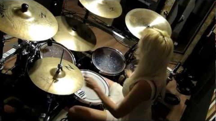 "Hit Like a Girl 2012 Amanda Tieman ""Pearl Girl"" Finalist on Drum Channel"