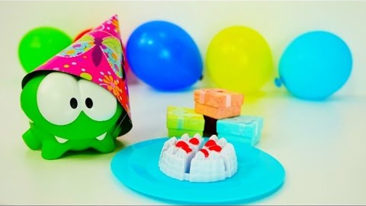 Видео для детей. День рождения Ам Няма и другие серии! Развивающее видео для детей.
