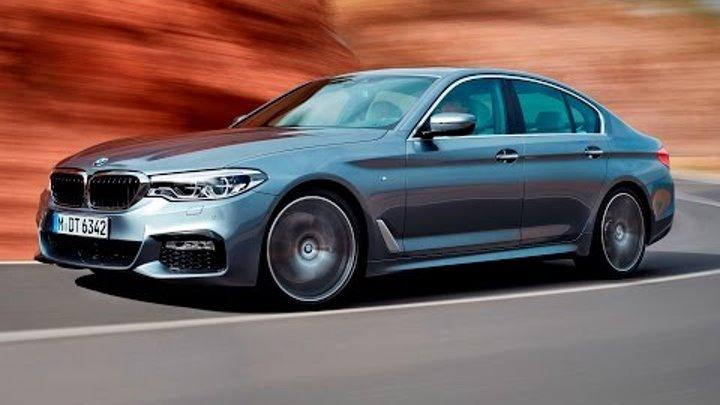 Новый BMW 5 серии 2017 года в деталях