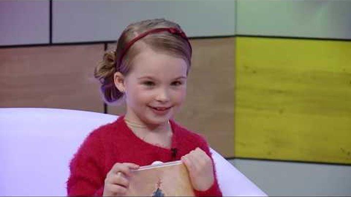 С добрым утром, малыши! - Гостевая - Юная певица Аня Волкова в гостях у Хрюши