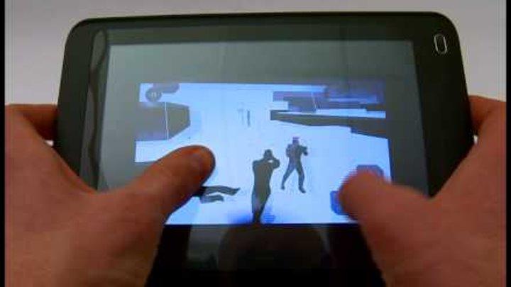 Запуск игры Splinter Cell Conviction на планшете Enot 131