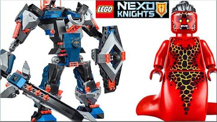 LEGO Nexo Knights 70326 Робот Чёрный рыцарь Обзор. Лего Нексо Найтс набор про мультики и Нексо силы