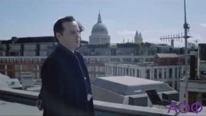 Шерлок. Шерлок и Мориарти на крыше. Шерлок 2 сезон 3 серия .Отрывок на крыше.