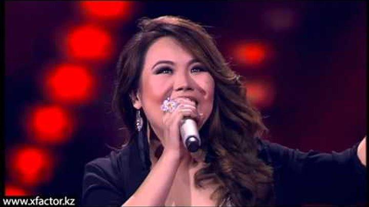 Айдана Риза. Песня спасения. X Factor Казахстан. Первый концерт. Эпизод 10. Сезон 6.