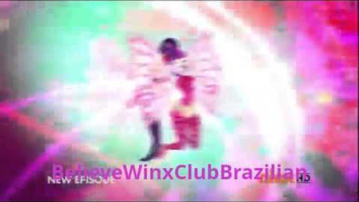Winx Club: Season 6, Episode 1 - Inspiration of Sirenix: Sirenix Transformation Brazilian! HD!