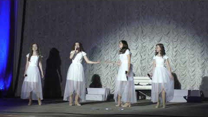 Отчетный концерт 2.06.2018 Крутые девчонки - Слушай сердце