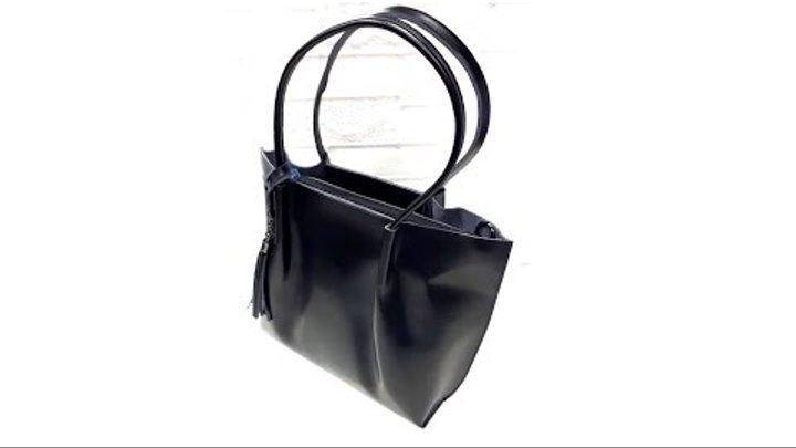 85450e0da4d5 Сумка с длинными ручками из кожи. Leather bags. Сумка женская. Интернет  магазин.