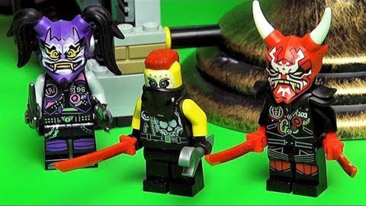Ниндзяго 8 сезон Сыны Гармадона LEGO журнал и наборы