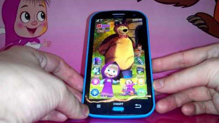 Маша и Медведь. Детский телефон (планшет) Маша и Медведь