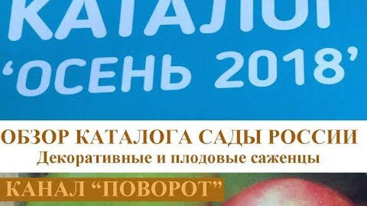 """Каталог саженцев """"САДЫ РОССИИ 2018"""""""