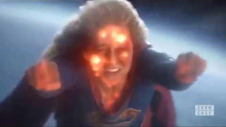 """Стрела убивает Супермена   Flash останавливает землю пер  [Супергёрл 4 сезон 9 серия """"Иные миры""""]"""