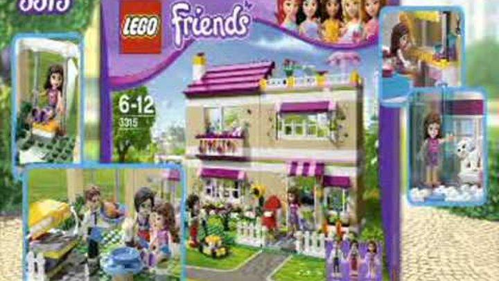 Конструкторы для девочек LEGO Friends Лего Подружки