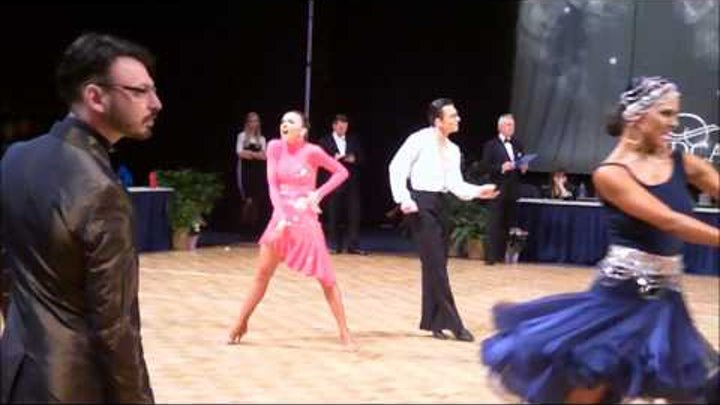 DENYS DROZDYUK AND ANTONINA SKOBINA WINNING U.S. NATIONALS 2013