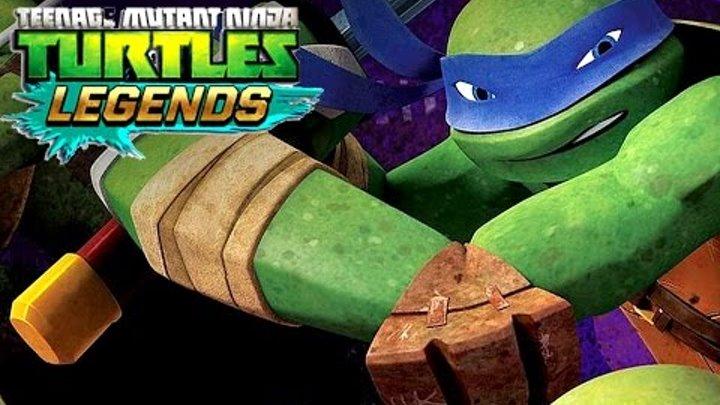 Черепашки Ниндзя - ЛЕГЕНДЫ - PVP !!! Игра про Мультики Teenage Mutant Ninja Turtles - Legends
